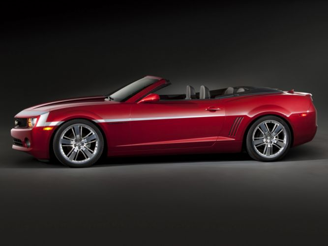 2012 Chevrolet Camaro Red Zone Concept muscle g wallpaper