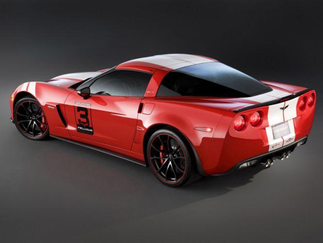 2012 Chevrolet Corvette Z06 Ron Fellows muscle supercar supercars g wallpaper