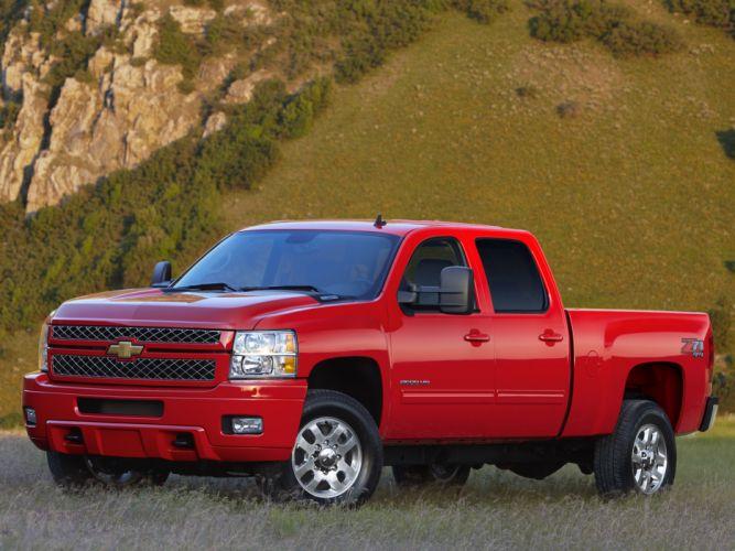 2012 Chevrolet Silverado 2500 heavy truck 4x4 z71 f wallpaper