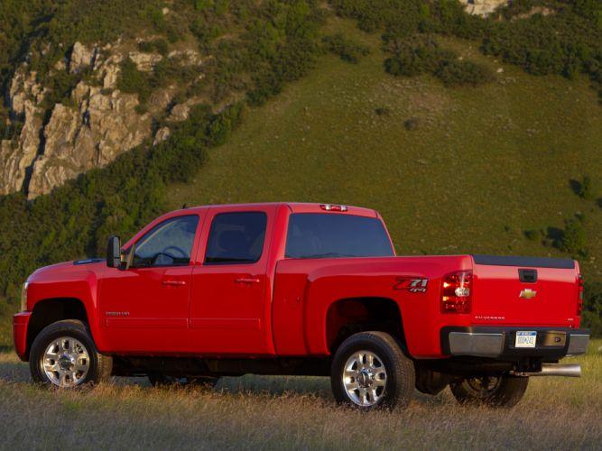 2012 Chevrolet Silverado 2500 heavy truck 4x4 z71 wallpaper