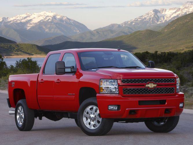 2012 Chevrolet Silverado 2500 heavy truck 4x4 wallpaper
