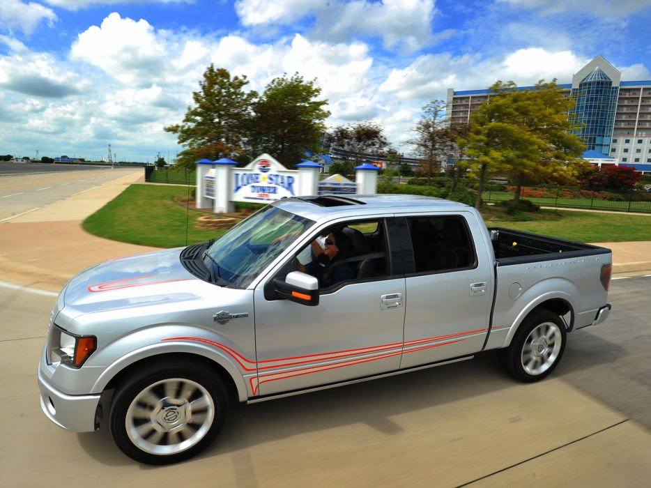 2012 Ford F-150 Harley Davidson truck muscle     f wallpaper