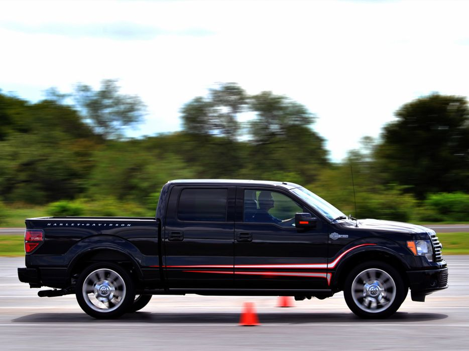 2012 Ford F-150 Harley Davidson truck muscle   s wallpaper