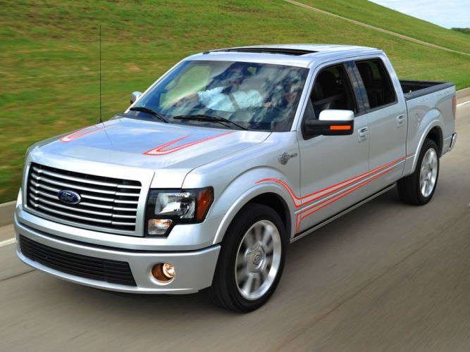 2012 Ford F-150 Harley Davidson truck muscle h wallpaper
