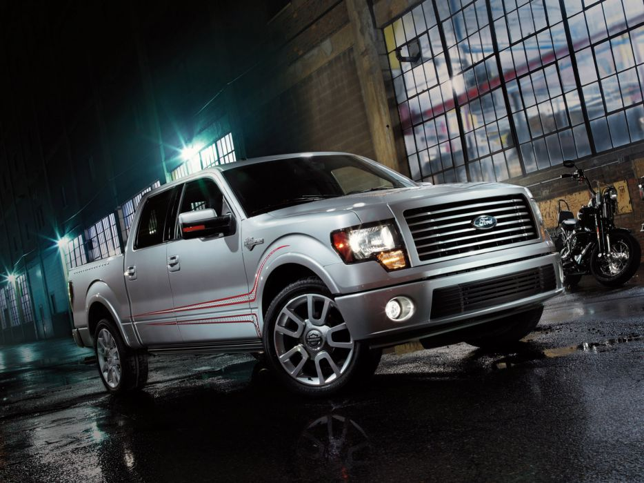 2012 Ford F-150 Harley Davidson truck muscle  g wallpaper