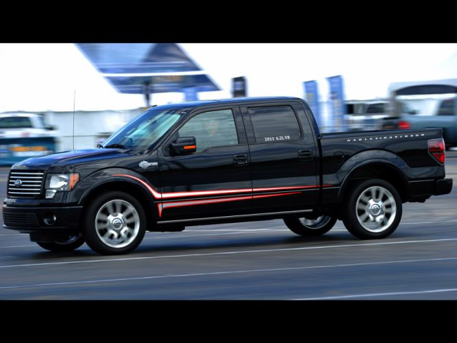 2012 Ford F-150 Harley Davidson truck muscle d wallpaper