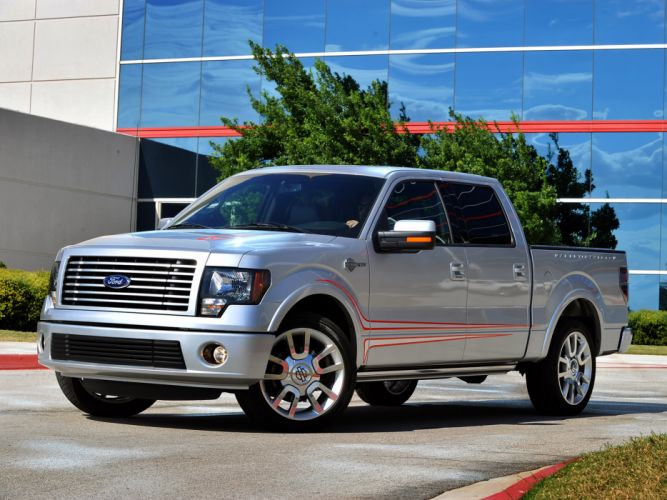 2012 Ford F-150 Harley Davidson truck muscle wallpaper
