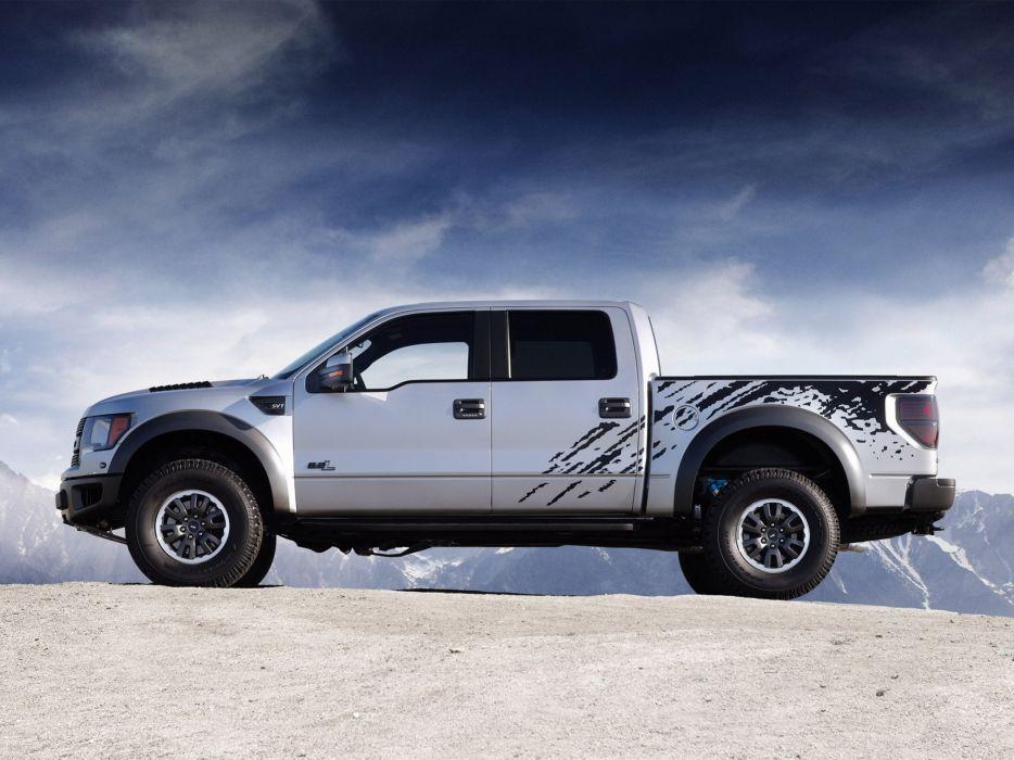 2012 Ford F-150 SVT Raptor supercrew truck 4x4     g wallpaper