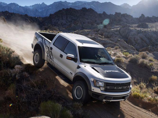 2012 Ford F-150 SVT Raptor supercrew truck 4x4 fs wallpaper