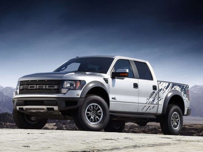 2012 Ford F-150 SVT Raptor supercrew truck 4x4 wallpaper