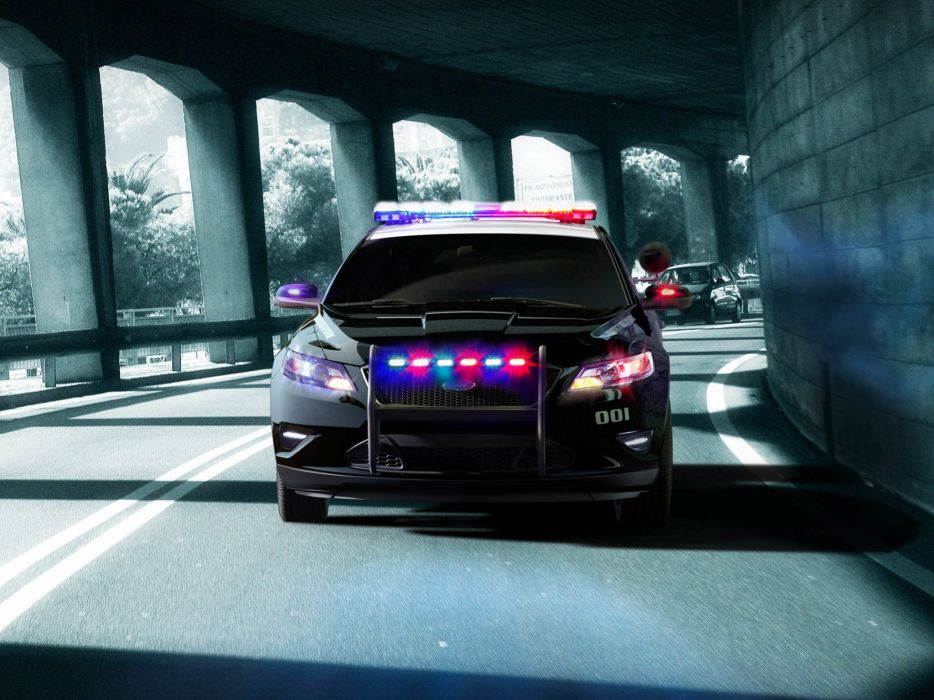 2012 Ford Interceptor Police Concept muscle    d wallpaper