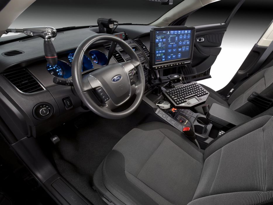 2012 Ford Interceptor Police Concept muscle interior wallpaper