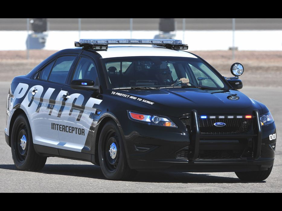 2012 Ford Interceptor Police Concept muscle wallpaper