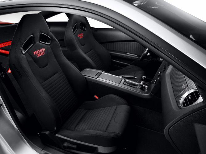 2012 Ford Mustang Boss 302 Laguna muscle interior wallpaper