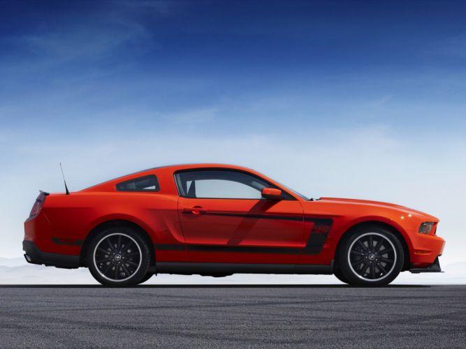 2012 Ford Mustang Boss 302 muscle g wallpaper