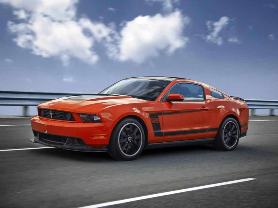2012 Ford Mustang Boss 302 muscle      d wallpaper