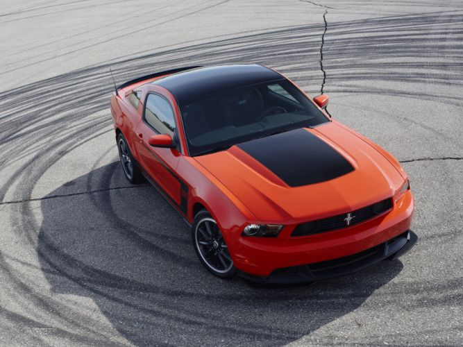 2012 Ford Mustang Boss 302 muscle h wallpaper
