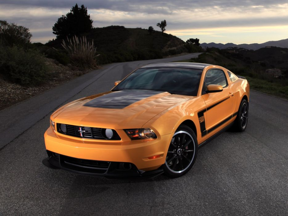 2012 Ford Mustang Boss 302 muscle f wallpaper
