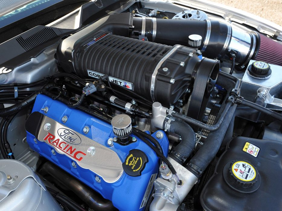 2012 Ford Mustang Cobra Jet muscle hot rod rods drag racing race engine engines wallpaper