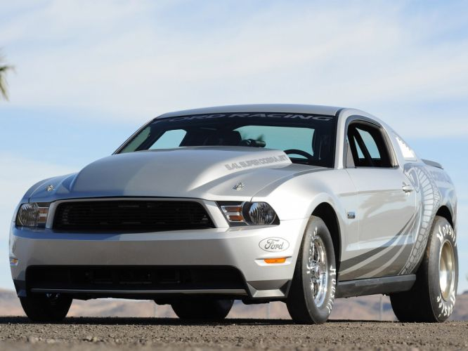 2012 Ford Mustang Cobra Jet muscle hot rod rods drag racing race wallpaper