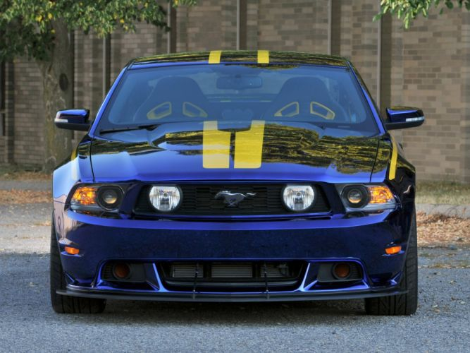 2012 Ford Mustang G-T Blue Angels muscle supercar supercars f wallpaper