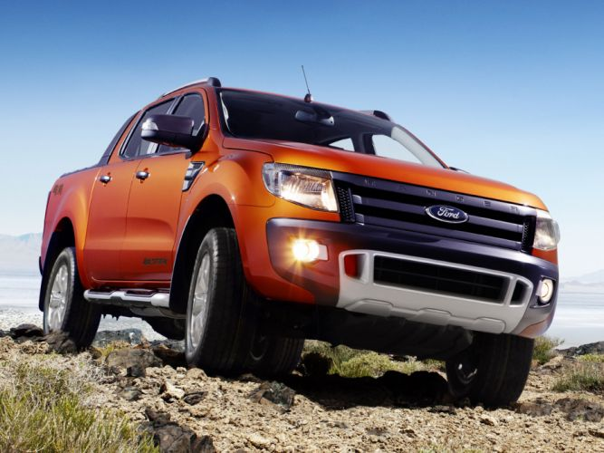 2012 Ford Ranger Wildtrak truck g wallpaper