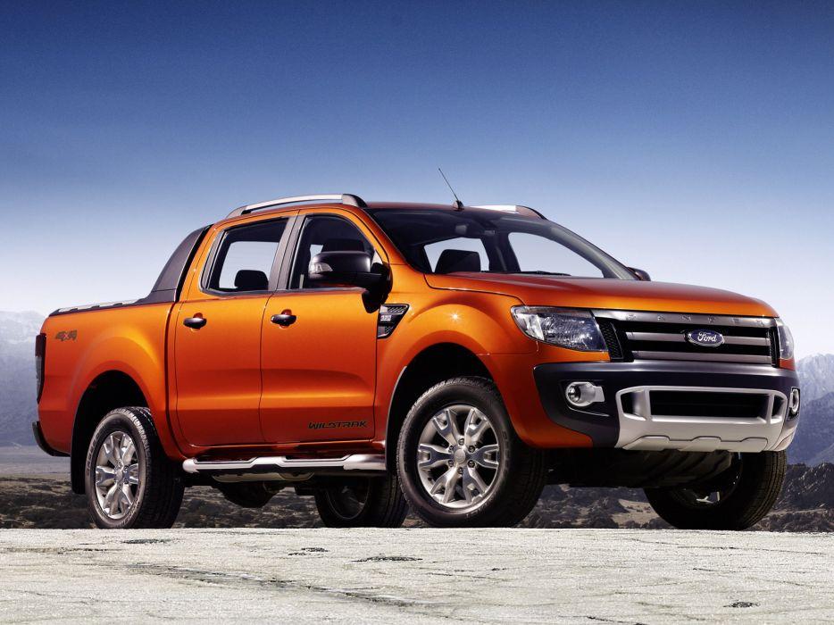 2012 Ford Ranger Wildtrak truck wallpaper