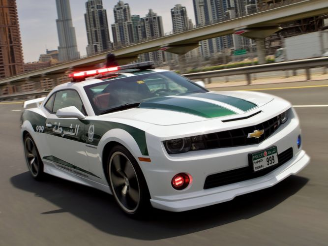 2013 Chevrolet Camaro S-S Police muscle wallpaper