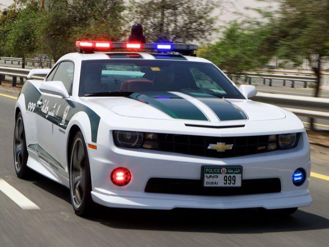 2013 Chevrolet Camaro S-S Police muscle d wallpaper