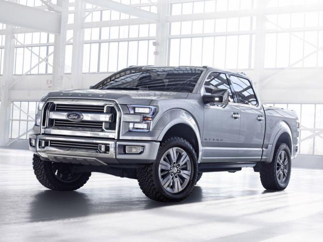 2013 Ford Atlas Concept truck d wallpaper