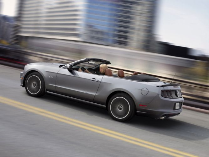 2013 Ford Mustang 5_0 GT Convertible muscle f wallpaper