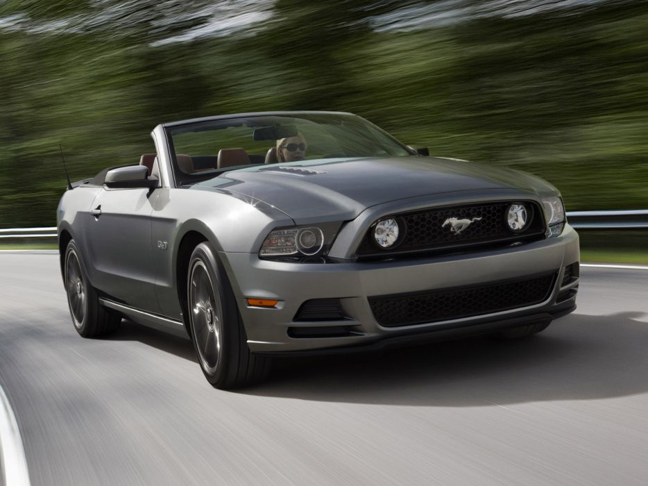 2013 Ford Mustang 5_0 GT Convertible muscle wallpaper