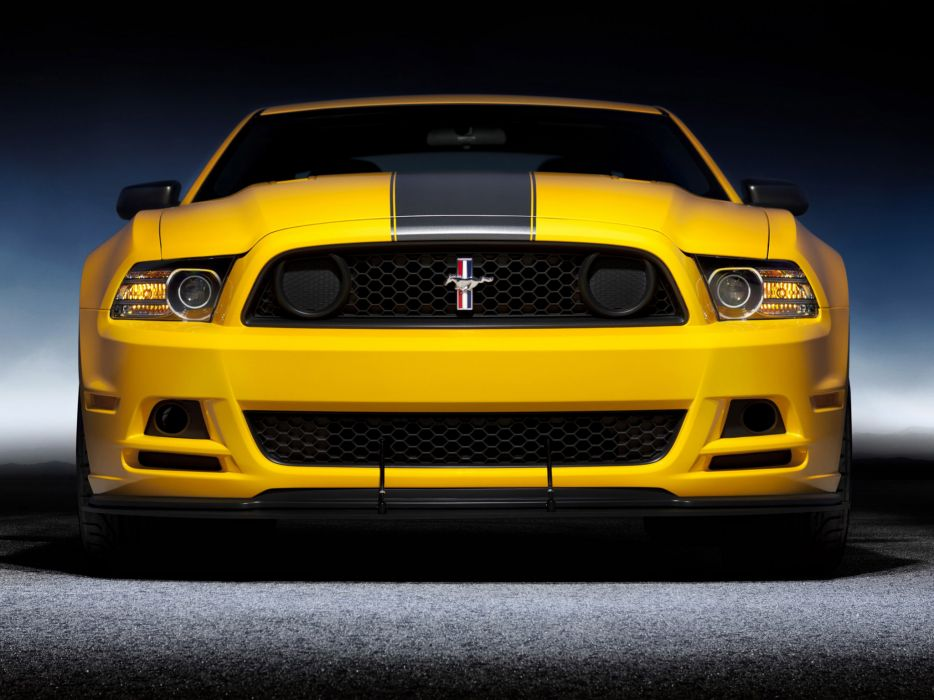 2013 Ford Mustang Boss 302 muscle        d wallpaper