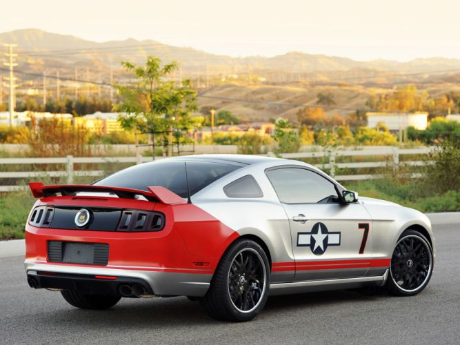 2013 Ford Mustang GT Red Tails muscle tuning f wallpaper