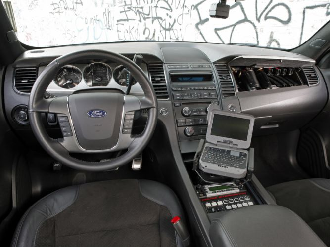 2013 Ford Stealth Police Interceptor muscle interior computer wallpaper