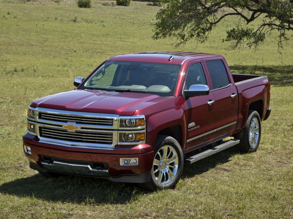 2014 Chevrolet Silverado High Country truck 4x4   d wallpaper