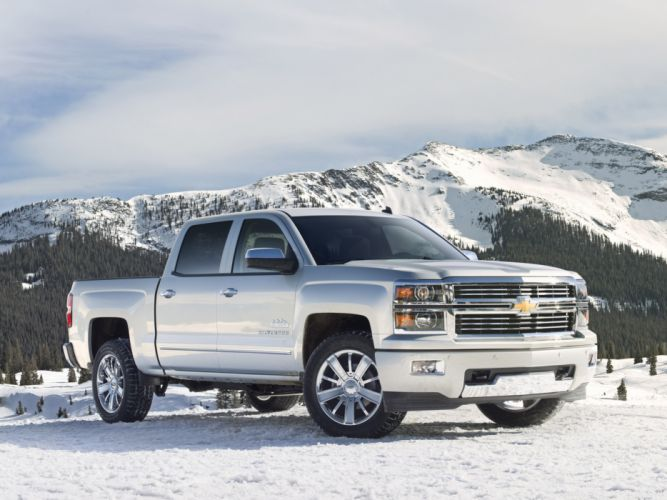 2014 Chevrolet Silverado High Country truck 4x4 ds wallpaper