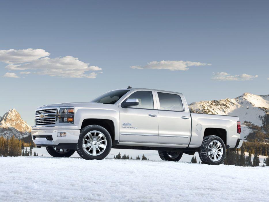 2014 Chevrolet Silverado High Country Truck 4x4 Dt Wallpaper