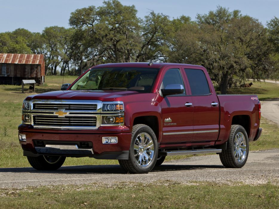 2014 Chevrolet Silverado High Country Truck 4x4 D Wallpaper