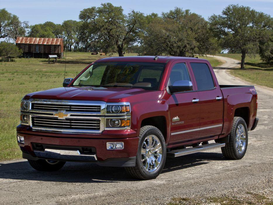 2014 Chevrolet Silverado High Country Truck 4x4 Wallpaper