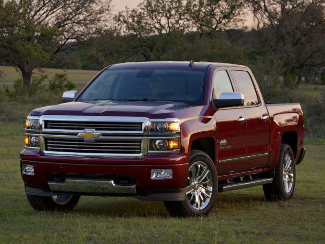 2014 Chevrolet Silverado High Country truck wallpaper