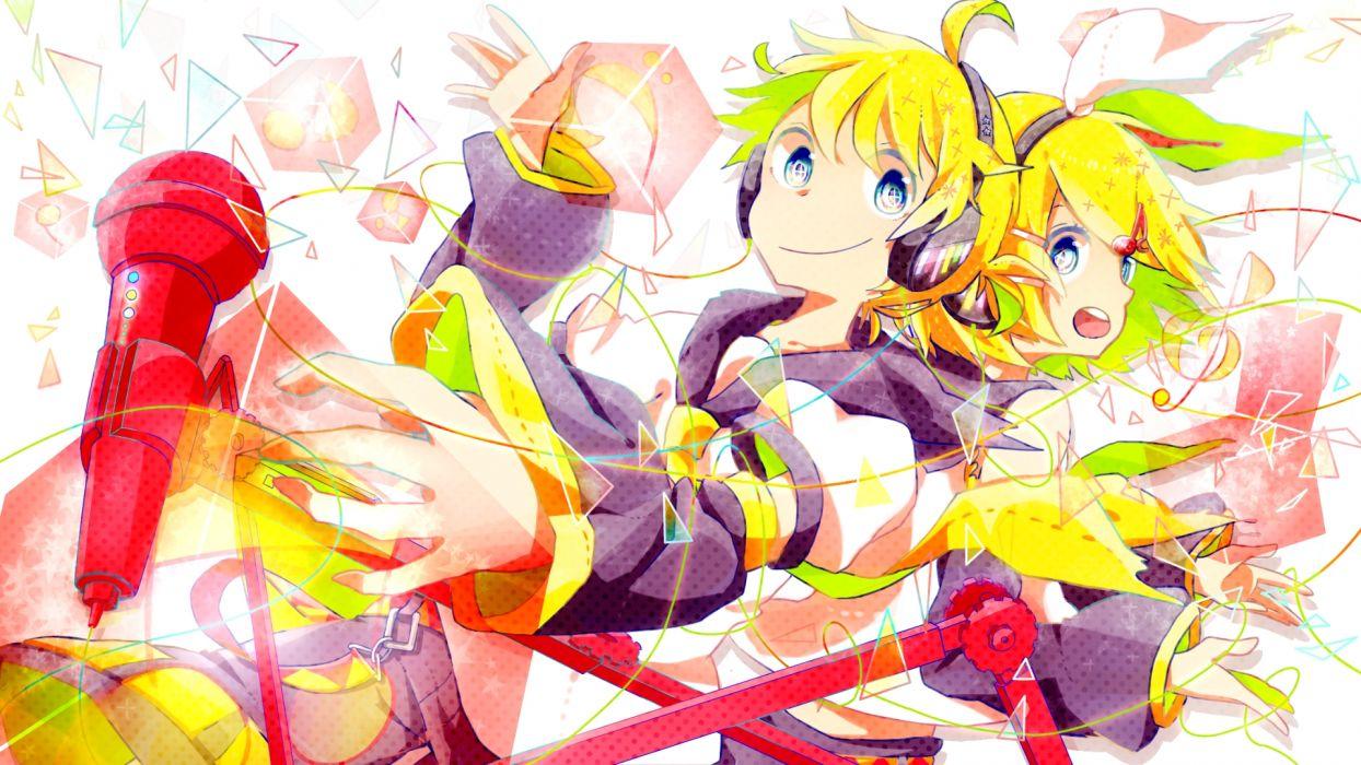 Vocaloid Kagamine Len rin wallpaper