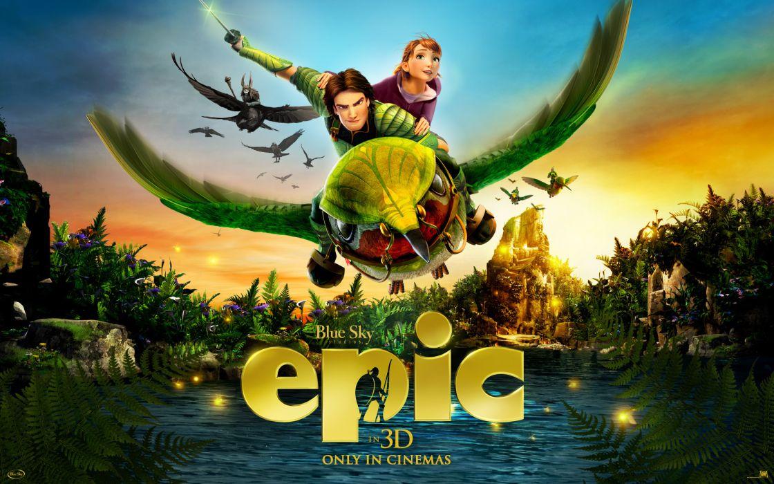 Epic cartoons movies movie   g wallpaper