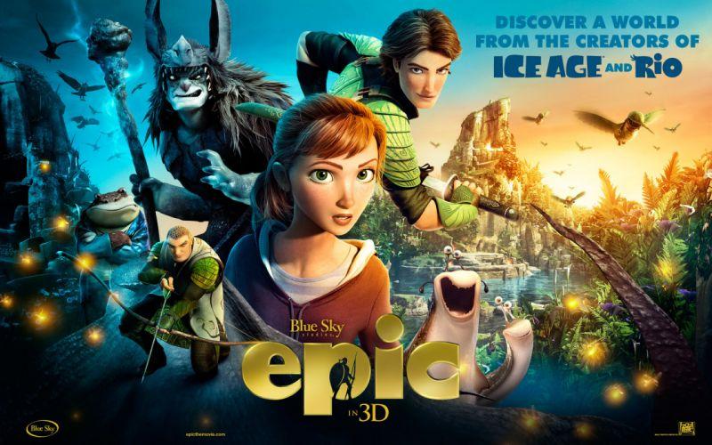 Epic cartoons movies movie wallpaper