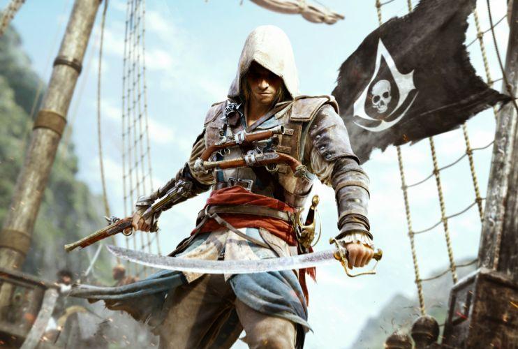Assassins Creed Warriors Men Sabre Games warrior fantasy wallpaper