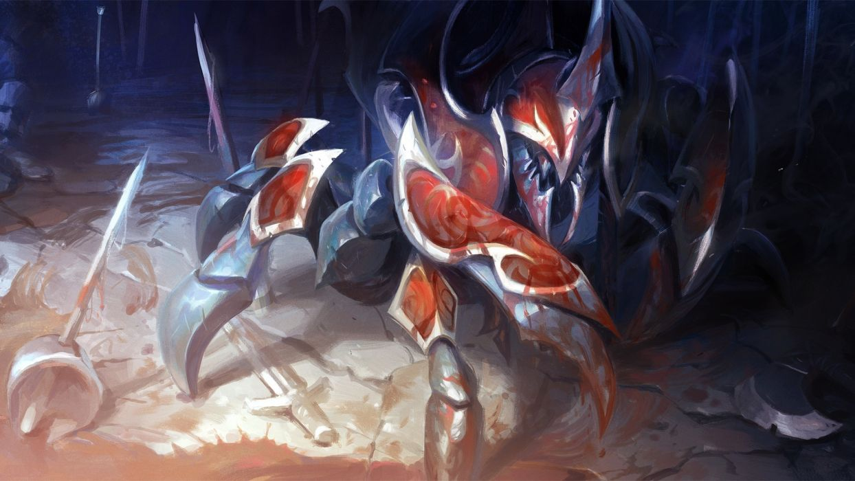 DOTA 2 nyx assassin Games fantasy wallpaper