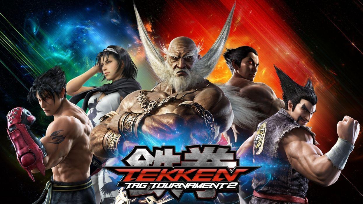 Tekken Men Warriors Games warrior sword weapons swords wallpaper
