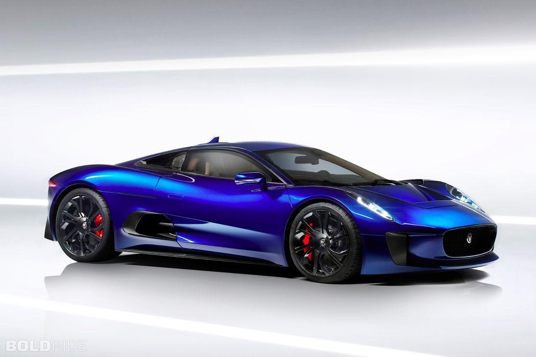 2013 Jaguar C-X75 Prototype supercar supercars    f wallpaper