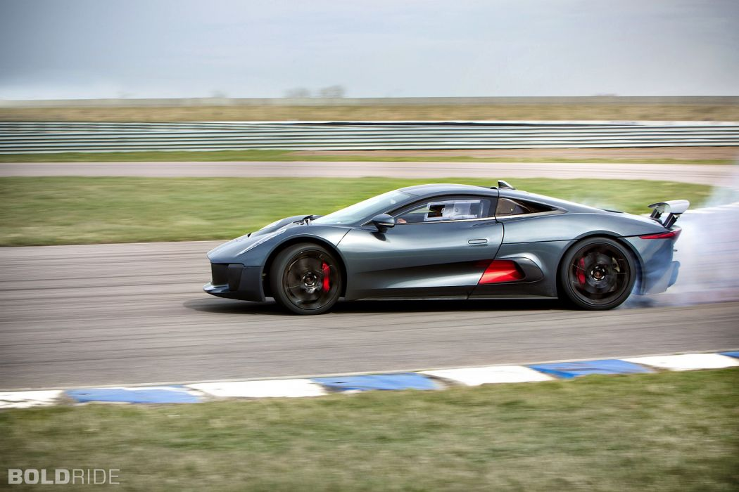 2013 Jaguar C-X75 Prototype supercar supercars burnout smoke drift wallpaper