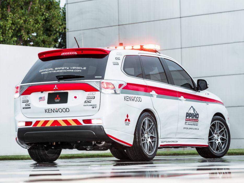 2013 Mitsubishi Outlander G-T Pikes Peak Safety suv race racing f wallpaper